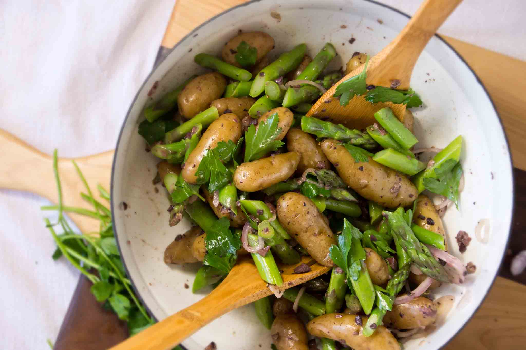 Chicken And Asparagus Salad With Creamy Tarragon Dressing Recipes ...