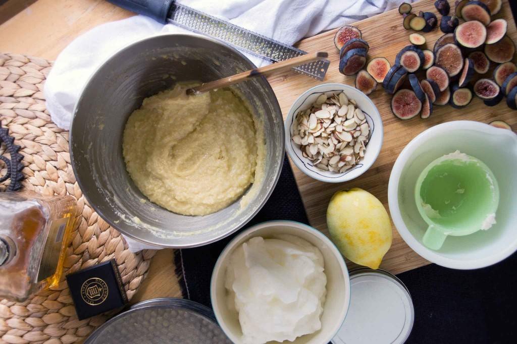 Almond-Ricotta Cake Batter