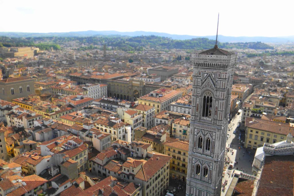 From the Top of the Duomo, Florence