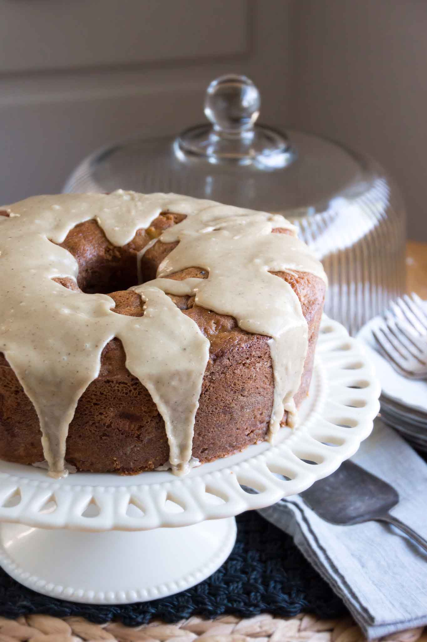 Brown Butter Caramel Apple Cake